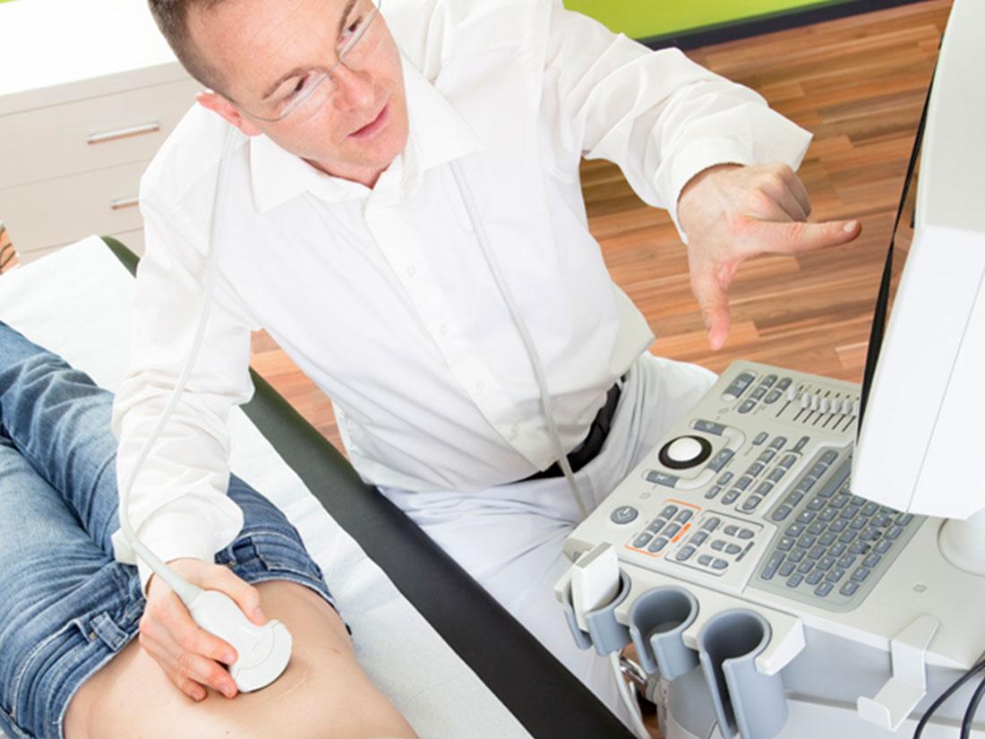 Praxis Dr. Carsten-Schwarz Berlin Allgemeinmedizin Ultraschall